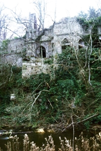 Blackadder Castle ruins